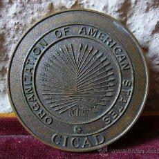 Thematic medals - Medalla de bronce CICAD - Organization of american States - 24271939