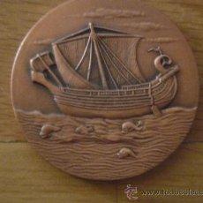 Medallas temáticas: LOTE 4 MEDALLAS DE SEMANA INTERNACIONAL DEL CINE NAVAL Y DEL MAR DE CARTAGENA. Lote 24640346