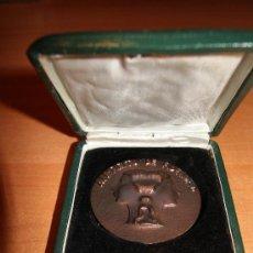 Medallas temáticas: MEDALLA DE BRONCE O COBRE .AL ESPIRITU DE FIDELIDAD /COMPAÑIA TELEFONICA DE ESPAÑA .EN SU ESTUCHE . Lote 25072832