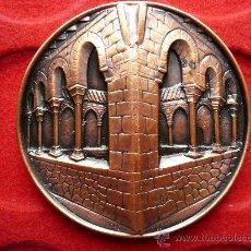 Medallas temáticas: IMPRESIONANT MEDALLA DE GRAN TAMANY, RELLEU I GRUIX. III BIENNAL COL.LECCIONISME. TERRASSA.1988.. Lote 25313908