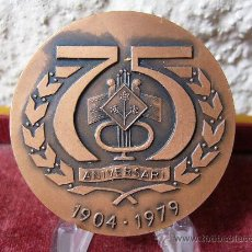 Medallas temáticas: 75 ANIVERSARI ORFEO GRACIENC 1979. Lote 26523205