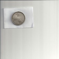 Medallas temáticas: AS7. MEDALLA CONMEMORATIVA 125 AÑOS TRANVIA 150 AÑOS TREN Y 75 AÑOS METRO BARCELONA. AMPLIAR FOTO. Lote 26549390