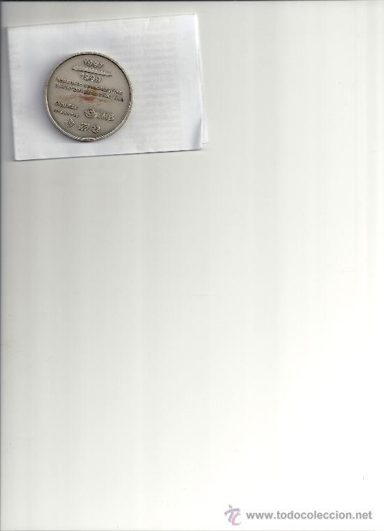 Medallas temáticas: AS7. MEDALLA CONMEMORATIVA 125 AÑOS TRANVIA 150 AÑOS TREN Y 75 AÑOS METRO BARCELONA. AMPLIAR FOTO - Foto 2 - 26549390