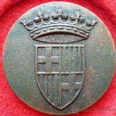 Medallas temáticas: MEDALLA DE BRONCE, DE GRAN RELIEVE, ESCUDO DE BARCELONA.. Lote 26862439