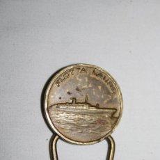 Medallas temáticas: M-049. CURIOSA MEDALLA DE LA FLOTA LAURO (ITALIANA) FABRICADA POR BERTONI MILANO. Lote 28600560