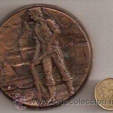 Medallas temáticas: SEMANA INTERNACIONAL DE CINE NAVAL Y DEL MAR. CARTAGENA 1984. Lote 29024831