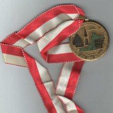 Medallas temáticas: MEDALLA ALEMANA RADWANDERFAHRT 220 KM RUND UM DEN BODENSEE 1975 ALTENRHEIN AVION. Lote 30783102