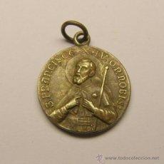 Medallas temáticas: MEDALLA S. FRANCISCO XAVIER PRINCIPIOS SIGLO XX.. Lote 32384203