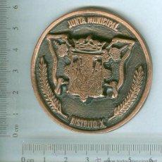 Medallas temáticas: MEDALLA O MEDALLON DE LA JUNTA MUNICIPAL DE SEVILLA . DISTRITO X. Lote 32826455