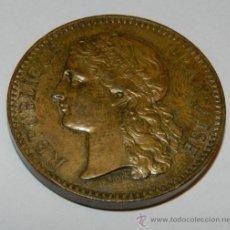 Medallas temáticas: ANTIGUA MEDALLA FRANCESA,1878 ADMINISTRACIÓN DE MONEDAS EXPOSICIÓN UNIVERSAL DE PARIS FRANCIA REPUBL. Lote 33495221