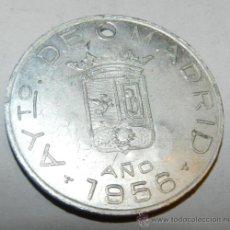 Medallas temáticas: ANTIGUA MEDALLA AYUNTAMIENTO DE MADRID AÑO 1956 CIRCULAR- DIÁMETRO 30 MM NÚMERO 6901, PARA TASA DE P. Lote 33495437