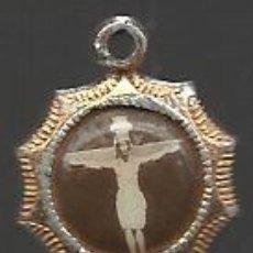 Medallas temáticas: ANTIGUA MEDALLA DE CRISTO. Lote 33757251