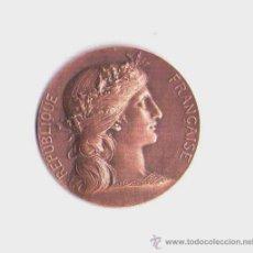 Medallas temáticas: MEDALLA MODERNISTA -ART NOUVEAU-FRANCESA PRINCIPIOS 1900, ALEGORIA DE LA REPUBLICA,FIRMA DOBOIS¡¡¡¡. Lote 33796329