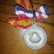 Medallas temáticas: MEDALLA PEREGRINACIÓN GALLEGA A LOURDES JUNIO 1958. Lote 33951559