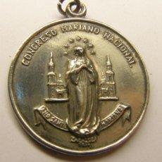 Medallas temáticas: MEDALLA RELIGIOSA CONGRESO MARIANO NACIONAL. ZARAGOZA. AÑO 1954.. Lote 34170410