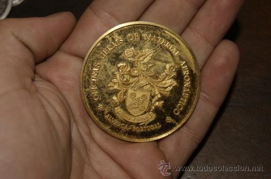 ANTIGUA MEDALLA DE PORTUGAL A IDENTIFICAR. (Numismática - Medallería - Temática)