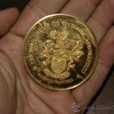Medallas temáticas: ANTIGUA MEDALLA DE PORTUGAL A IDENTIFICAR. . Lote 34331630