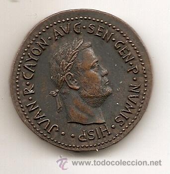JUAN R. CAYÓN. MEDALLA PUBLICITARIA (Numismática - Medallería - Temática)