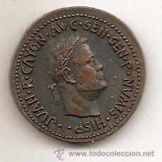 Medallas temáticas: JUAN R. CAYÓN. MEDALLA PUBLICITARIA. Lote 64126458
