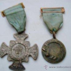 Medallas temáticas: 2 MEDALLAS -LEGION DE HONOR,LABOREMUS Y APLICACION.. Lote 34892653