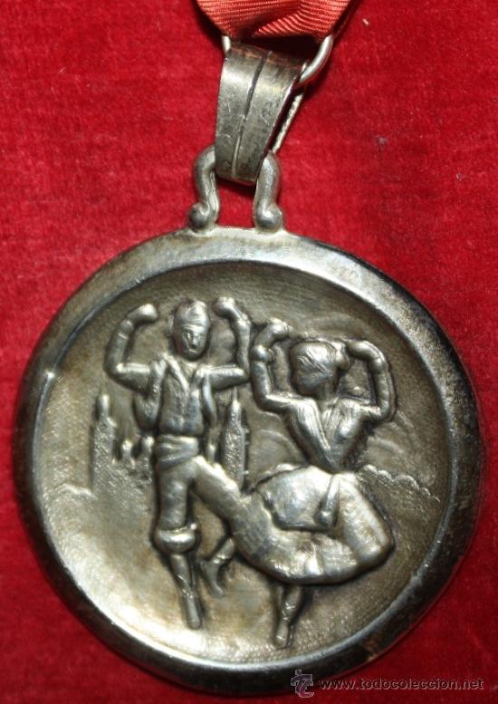 SEMANA NACIONAL DE LA JOTA,ZARAGOZA,PLATA (Numismática - Medallería - Temática)