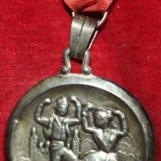 Medallas temáticas: SEMANA NACIONAL DE LA JOTA,ZARAGOZA,PLATA. Lote 35478303