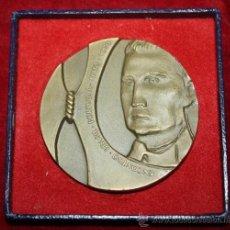 Medallas temáticas: MEDALLON DE ENCUENTRO DE BRASIL Y PORTUGAL AÑO DE 1973. Lote 35514453