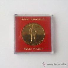 Medallas temáticas: MEDALLA TORRE DE LONDRES, ENRIQUE VIII, ARMERIA REAL, BRONCE MACIZO. Lote 35517649