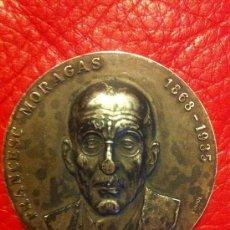 Medallas temáticas: MEDALLA FRANCESC MORAGAS 1868-1935, MEDALLAS. Lote 35832116