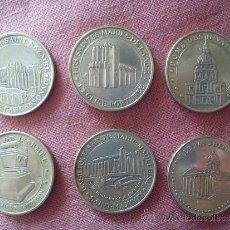 Medallas temáticas: 6 MEDALLAS DE PARÍS.. Lote 36881459