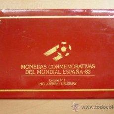 Medallas temáticas: MONEDAS CONMEMORATIVAS DEL MUNDIAL ESPAÑA 82 ESTUCHE Nº1. Lote 37012148