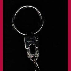 Medallas temáticas: ESPAÑA 1975.- FRANCISCO FRANCO EN ALTO RELIEVE 20 NOV. 1975- REV. LISO.- MONTADO EN LLAVERO. Lote 144579050