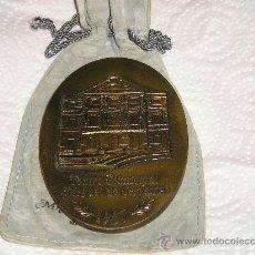 Medallas temáticas: MEDALLA DEL TEATRO MUNICIPAL MIGUEL DE CERVANTES DE MALAGA, EN SU REINAUGURACION,. Lote 37442373