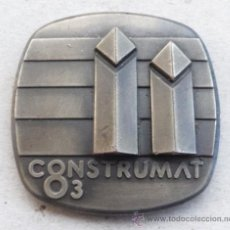 Medallas temáticas: MEDALLA DEL SALON INTREN. CONTRUCCIÓN FERIA DE BARCELONA CONSTRUMAT 1981. Lote 37515196