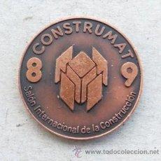 Medallas temáticas: MEDALLA DEL SALON INTREN. CONTRUCCIÓN FERIA DE BARCELONA CONSTRUMAT 1989. Lote 37515218