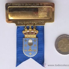 Medalhas temáticas: MEDALLA, XVI CONGRESO NACIONAL SKAL CLUBS ESPAÑA, GALICIA MAYO 1972. Lote 41131101