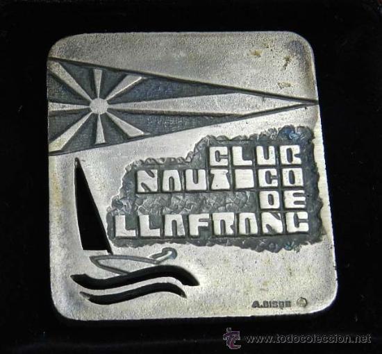 Medallas temáticas: ANTIGUA MEDALLA DE PLATA DEL CAMPEONATO DE EUROPA DE VELA CLASE FINN, ESPAÑA DE 1975, CLUB NAUTICO D - Foto 2 - 39039346