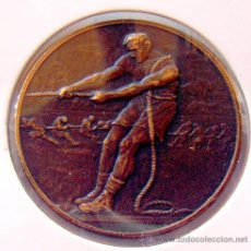 Medallas temáticas: MEDALLA DEPORTIVA . PARA POSIBLE GRABACION EN REVERSO. SIN IDENTIFICAR. Lote 39203573