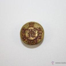 Medallas temáticas: PIN048 INSIGNIA DE LA IV REUNIÓN NACIONAL DE DERMATÓLOGOS ESPAÑOLES - BARCELONA 1940. Lote 39415775