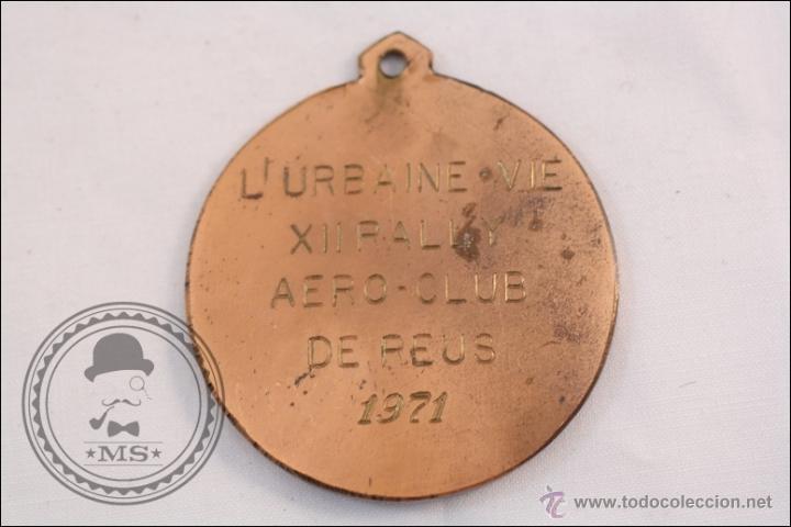 Medallas temáticas: Medalla Conmemorativa del LUrbaine Vie XII Rally - Aero Club de Reus 1971 - Foto 2 - 39586608