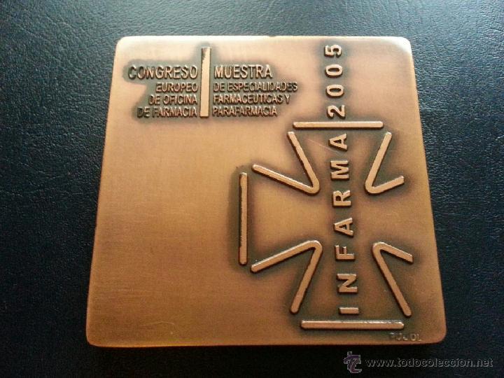 MEDALLA INFARMA 2005 - PUJOL (Numismática - Medallería - Temática)