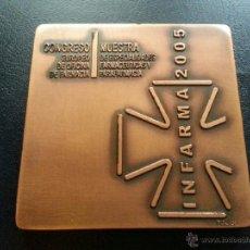 Medallas temáticas: MEDALLA INFARMA 2005 - PUJOL. Lote 39764080