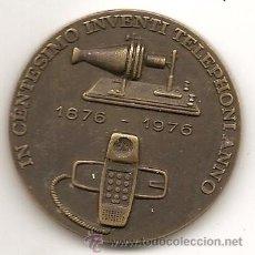 Medallas temáticas: MEDALLA DE TELEFÓNICA. 1976. Lote 194728886