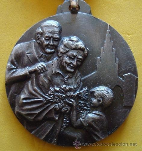 Medallas temáticas: MEDALLA HOMENAJE A LOS ABUELOS CASTELLÓ D´EMPÚRIES - Foto 2 - 40238156