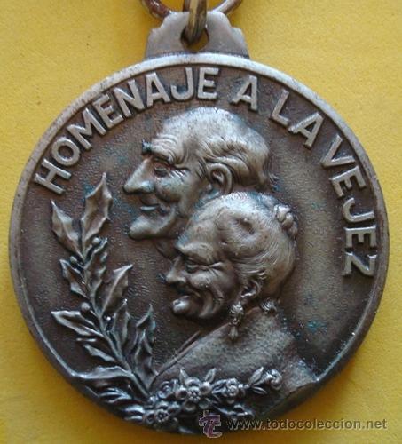 Medallas temáticas: MEDALLA HOMENAJE A LA VEJEZ NOCES DE PLATA CASTELLÓ D´EMPÚRIES 12/4/71 - Foto 2 - 40238424