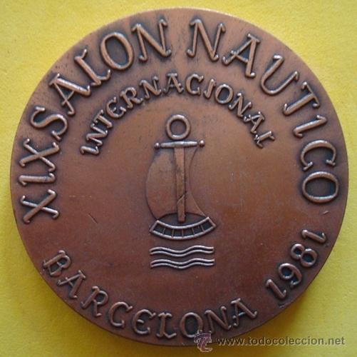 Medallas temáticas: MEDALLA PRIMER BUQUE MERCANTE ESPAÑOL DE HELICE¨GENERAL ARMERO¨1853 - Foto 2 - 40239479