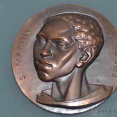 Medallas temáticas: SAN MARTIN DE PORRES MEDALLA POR FERNANDO DE JESUS EN BRONCE . Lote 40422444
