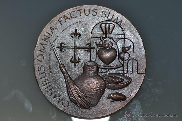 Medallas temáticas: SAN MARTIN DE PORRES MEDALLA POR FERNANDO DE JESUS EN BRONCE - Foto 2 - 40422444