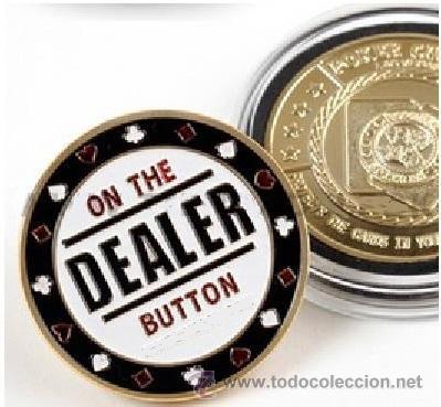 MONEDA DE POKER COIN PRO - DEALER BUTTON - OFERTA (Numismática - Medallería - Temática)