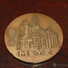 Medallas temáticas: MEDALLON DE LA CIUDAD DE METZ. Lote 40877554